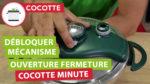 Débloquer le mécanisme d'ouverture / fermeture d'une cocotte-minute seb