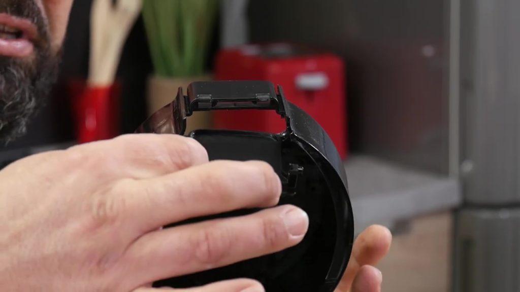 Installer la nouvelle poignée