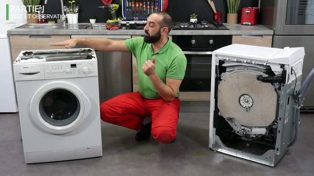Les contrepoids dans les lave-linge hublot