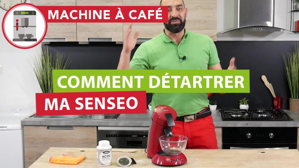 détartrer sa machine à café Senseo pour éviter la panne