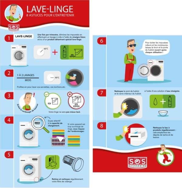Conseils pour entretenir son lave-linge
