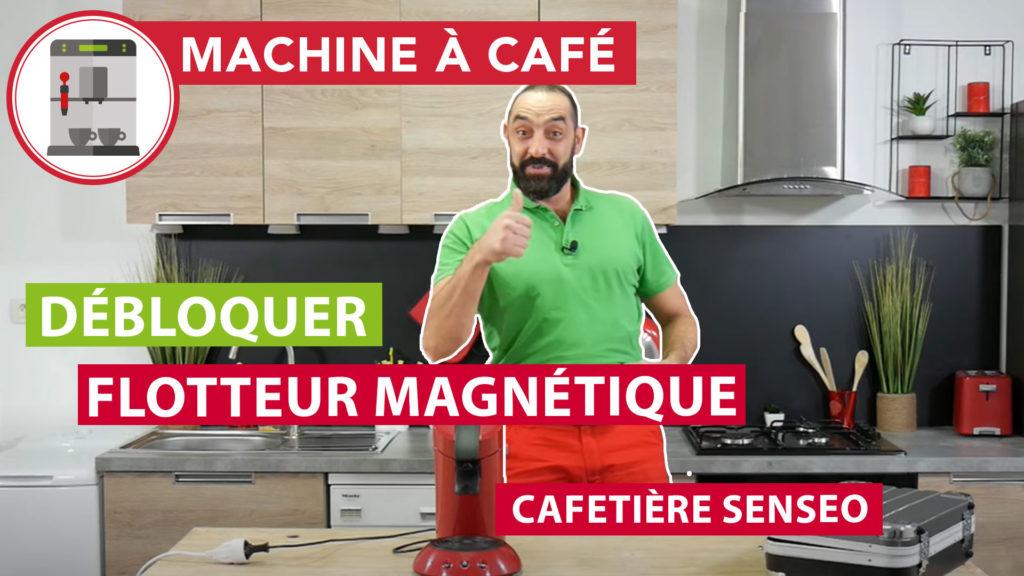 Débloquer le flotteur magnétique d'une cafetière