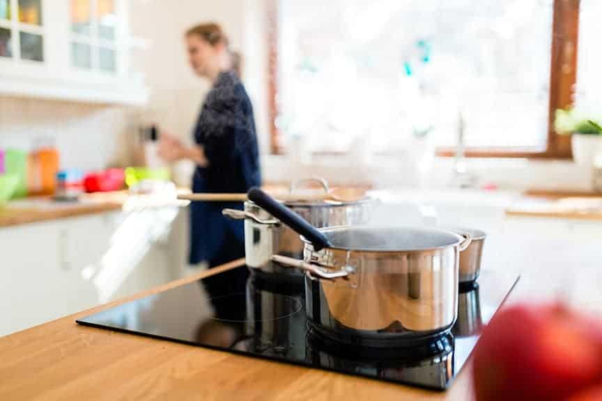 Vapeurs de cuisson dans la cuisine